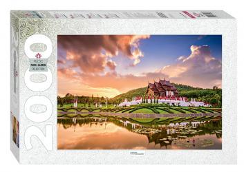 Фото Пазл Тайланд. Чиангмай. Королевский парк, 2000 элементов (84036)