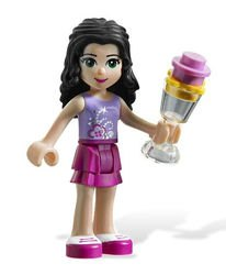 3931 Веселый бассейн Эммы (конструктор Lego Friends) фотография 4
