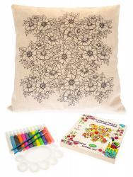 Фото Чехол для подушки под роспись Цветочный сад (476039)