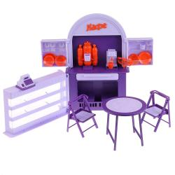 "Фото Набор кукольной мебели Кафе-бар ""Огонек"" (С-1501)"