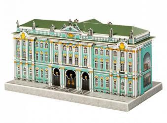 Фото Сборная модель из картона Эрмитаж Санкт-Петербург в миниатюре (468)
