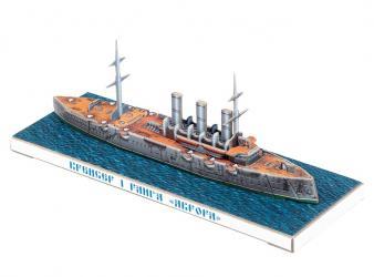 Фото Сборная модель из картона Аврора Санкт-Петербург в миниатюре (477)