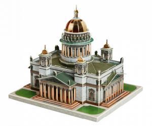 Фото Сборная модель из картона Исаакиевский собор Санкт-Петербург в миниатюре (490)