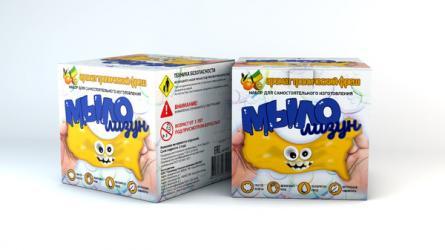 Фото Набор для изготовления мыла Мыло-лизунТропический фреш (835)