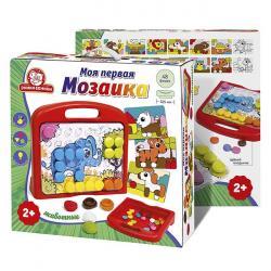 Фото Мозаика для малышей Моя первая мозаика Животные в чемоданчике