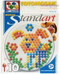 Мозаика для детей круглая 220 дет., 10мм (00-172) фотография 1