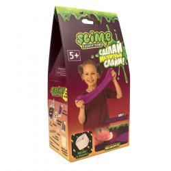 Фото Набор для создания слайма малый SlimeЛаборатория для девочек фиолетовый магнитный