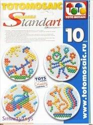 Мозаика для детей круглая 220 дет., 10мм (00-172) фотография 2