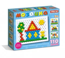 Фото Мозаика детская 110 деталей, 13 мм (01036)