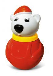 Фото Игрушка Неваляшка малая Белый медведь (01609)
