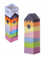 Фото Деревянная пирамидка логическая Башня 8 дет (11322/LD-3)