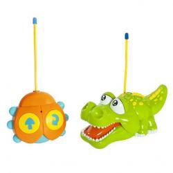 Фото Радиоуправляемая игрушка Крокодильчик свет, музыка (939504)