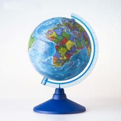 Фото Глобус политический диаметр 15 см