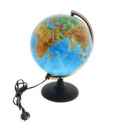 Глобус физическийс подсветкойдиаметр 25 см фотография 1