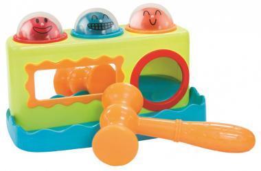 Фото Развивающая игрушка стучалка Сортер с молоточком (3017А)
