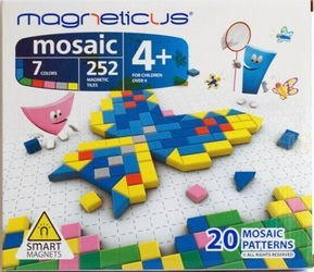 Фото Мозаика магнитная Magneticus (252 эл.)