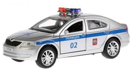 Фото Масштабная модель Skoda Octavia (Шкода Октавия) Полиция 12 см