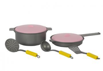 Фото Игра Детский кухонный набор 5 предметов (У573)