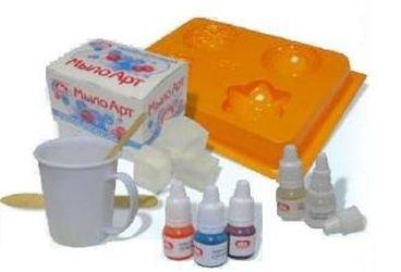 Набор для изготовления мыла Транспорт фотография 2