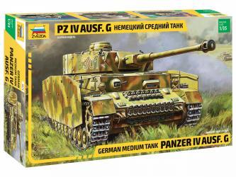 Сборная модель Немецкий танк T-IV G (3674) фотография 1