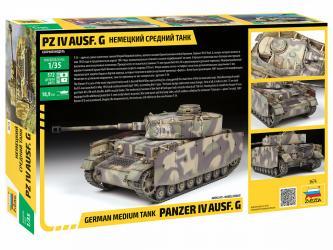 Сборная модель Немецкий танк T-IV G (3674) фотография 2