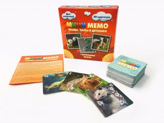 Фото Настольная игра Ми-ми-Мемо Экзотические животные (8064)