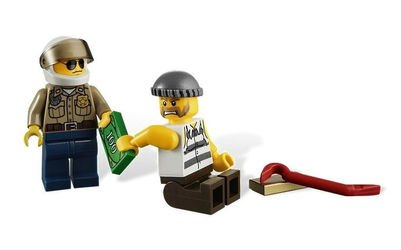 4437 Полицейская погоня (конструктор Lego City) фотография 4