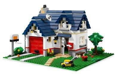 5891 Загородный дом (конструктор Lego Creator) фотография 1