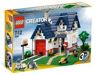 5891 Загородный дом (конструктор Lego Creator) фотография 2