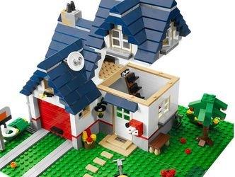 5891 Загородный дом (конструктор Lego Creator) фотография 5