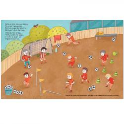 Книга с многоразовыми наклейками Футбол фотография 3