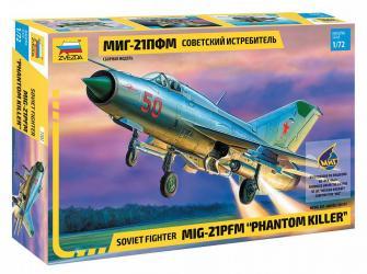Фото Сборная модель Самолет МИГ-21 ЛФМ (7202)