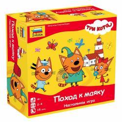 Фото Настольная игра Три кота Поход к маяку (8769)