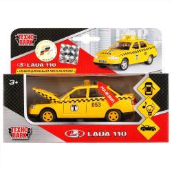 Фото Масштабная модель Лада 2110 Такси со светом и звуком (CT10-110-7)