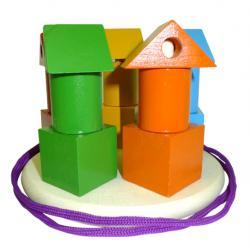 Фото Пирамидка Башенки цветные (Д-672)