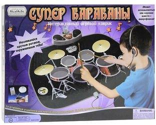 Детский музыкальный коврик Супер барабаны фотография 2