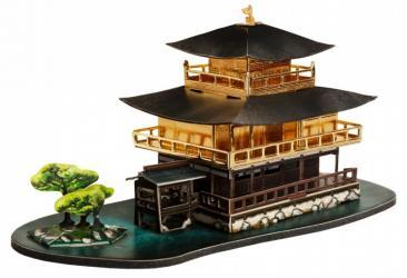 Фото Сборная модель из картона Золотой павильон Япония в миниатюре (530)