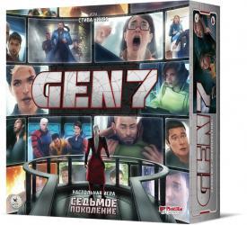 Фото Настольная игра Седьмое поколение (GEN7)