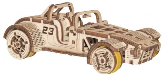 Фото Сборная деревянная модель Родстер (337)
