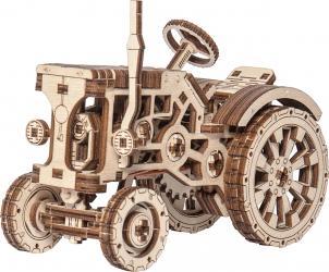 Фото Сборная деревянная модель Трактор (318)