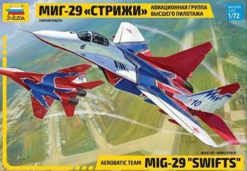 """Фото Сборная модель Самолет """"МиГ-29 Стрижи"""" (7310)"""
