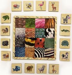 Фото Рамка с вкладышами В мире животных (8190)