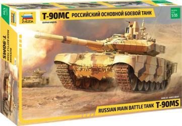 Фото Сборная модель Российский основной боевой танк Т-90МС (3675)