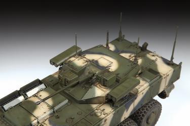 Сборная модель Российская БМП Бумеранг (3696) фотография 4