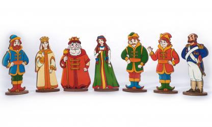 Фото Набор фигурок Мир русских сказок Царский двор (8092)
