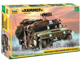 """Фото Сборная модель Американский армейский вездеход """"Хаммер"""" (3562)"""
