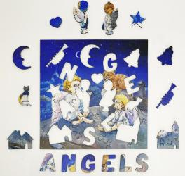 Фигурный деревянный пазл Сказки доброго ангела фотография 3
