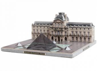 Фото Сборная модель из картона Музей Лувр Города в миниатюре (582)