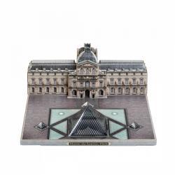 Сборная модель из картона Музей Лувр Города в миниатюре (582) фотография 3