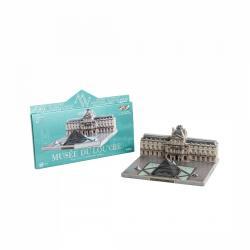 Сборная модель из картона Музей Лувр Города в миниатюре (582) фотография 5